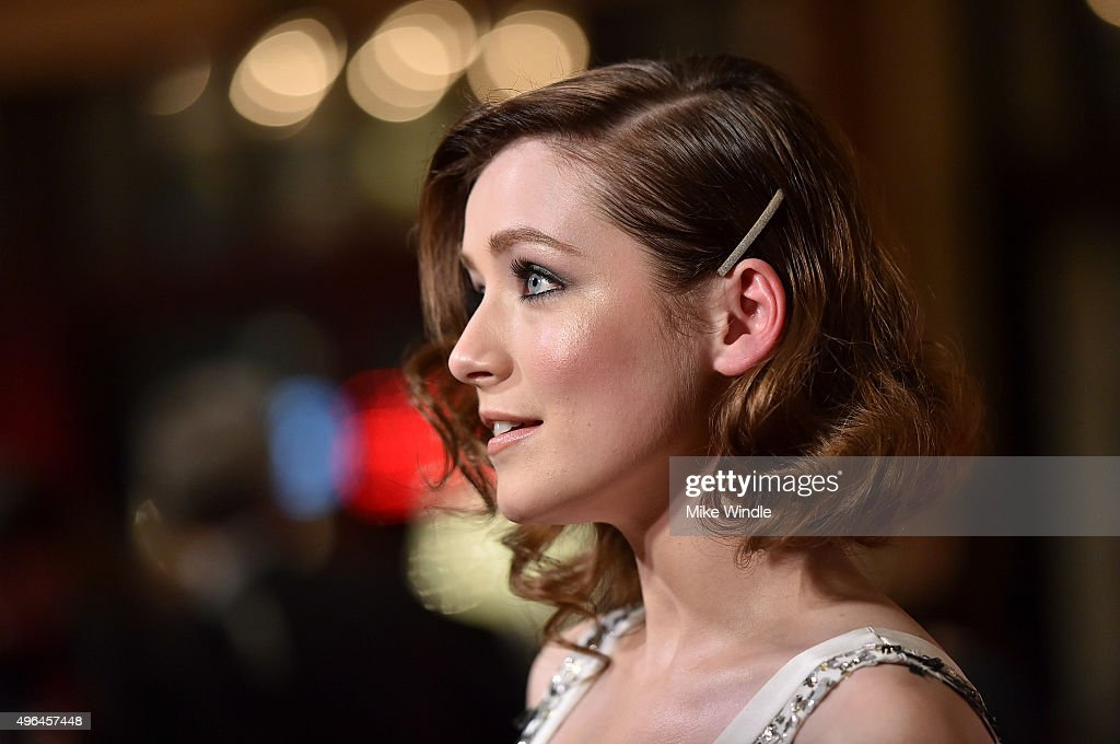 Actress Sarah Bolger attends the premiere of Clarius Entertainment's 'My All American' at The Grove on November 9, 2015 in Los Angeles, California.