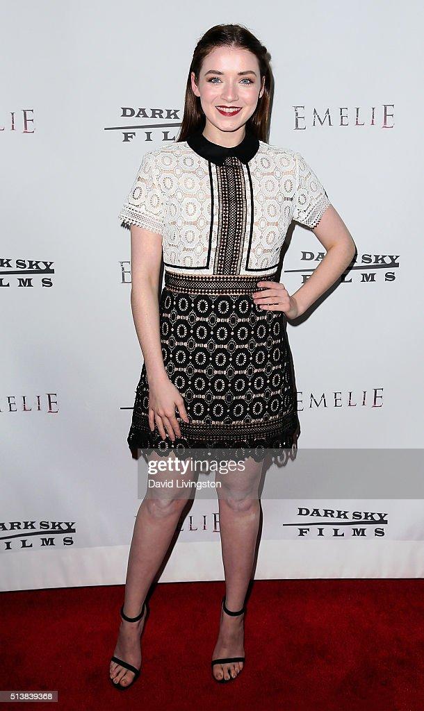"""Premiere Of Dark Sky Films' """"Emelie"""" - Arrivals"""