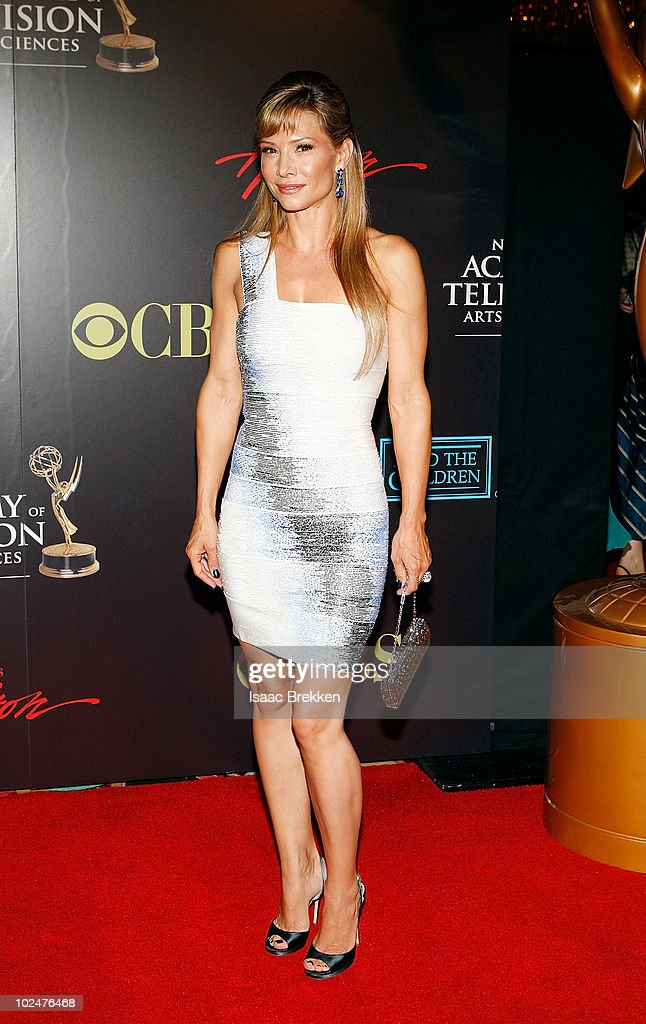 Actress Sarah Brown arrives at the 37th Annual Daytime Entertainment Emmy Awards held at the Las Vegas Hilton on June 27, 2010 in Las Vegas, Nevada.