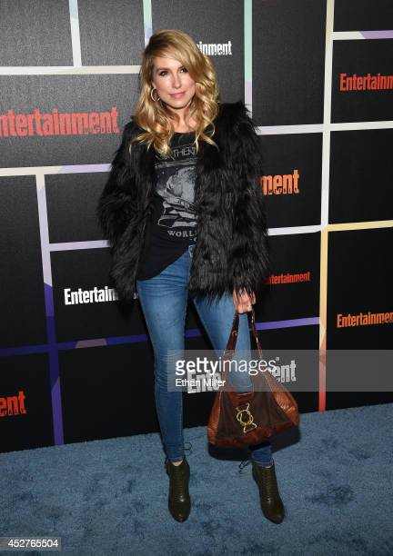 Actress Sarah Carter attends Entertainment Weekly's annual ComicCon celebration at Float at Hard Rock Hotel San Diego on July 26 2014 in San Diego...