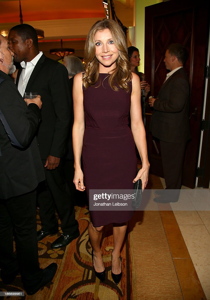 Actress <a gi-track='captionPersonalityLinkClicked' href=/galleries/search?phrase=Sarah+Chalke&family=editorial&specificpeople=213213 ng-click='$event.stopPropagation()'>Sarah Chalke</a> attends Equality Now presents 'Make Equality Reality' at Montage Hotel on November 4, 2013 in Los Angeles, California.