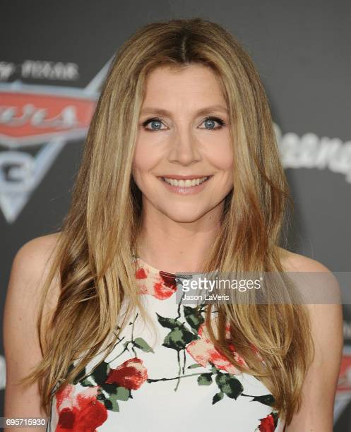 Actress Sarah Chalke attends the premiere of 'Cars 3' at Anaheim Convention Center on June 10 2017 in Anaheim California