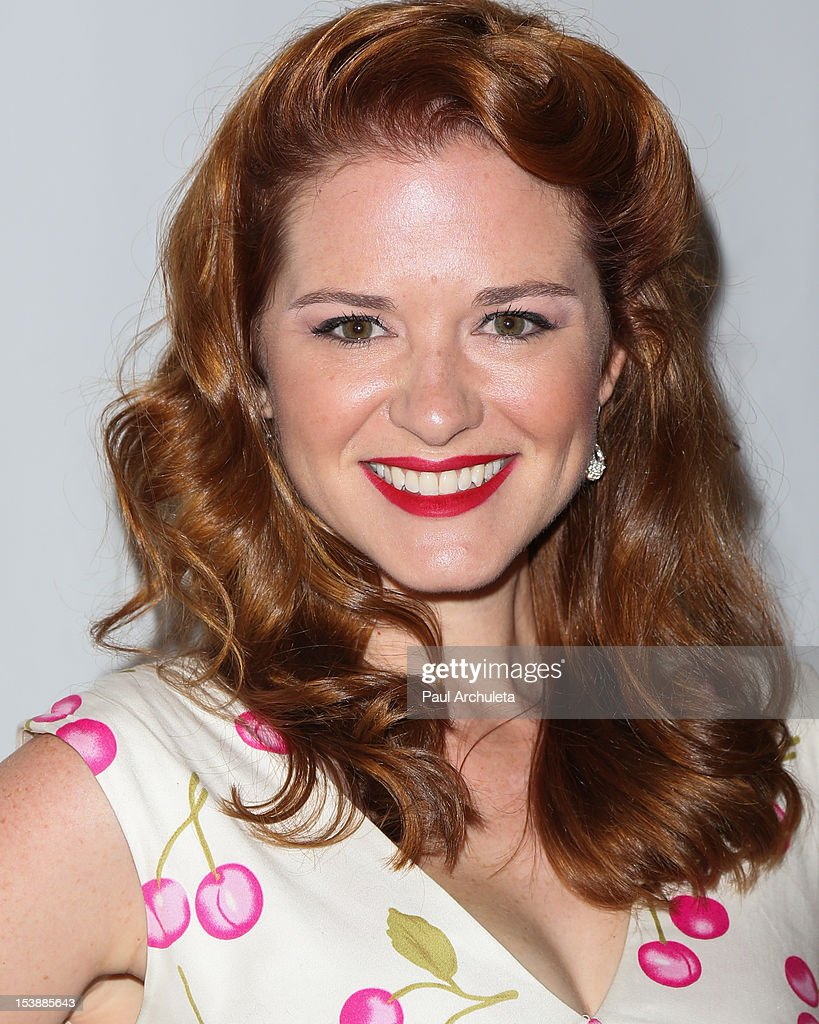 Actress Sarah Drew attends the 2012 Media Access Awards at The Beverly Hilton Hotel on October 10, 2012 in Beverly Hills, California.