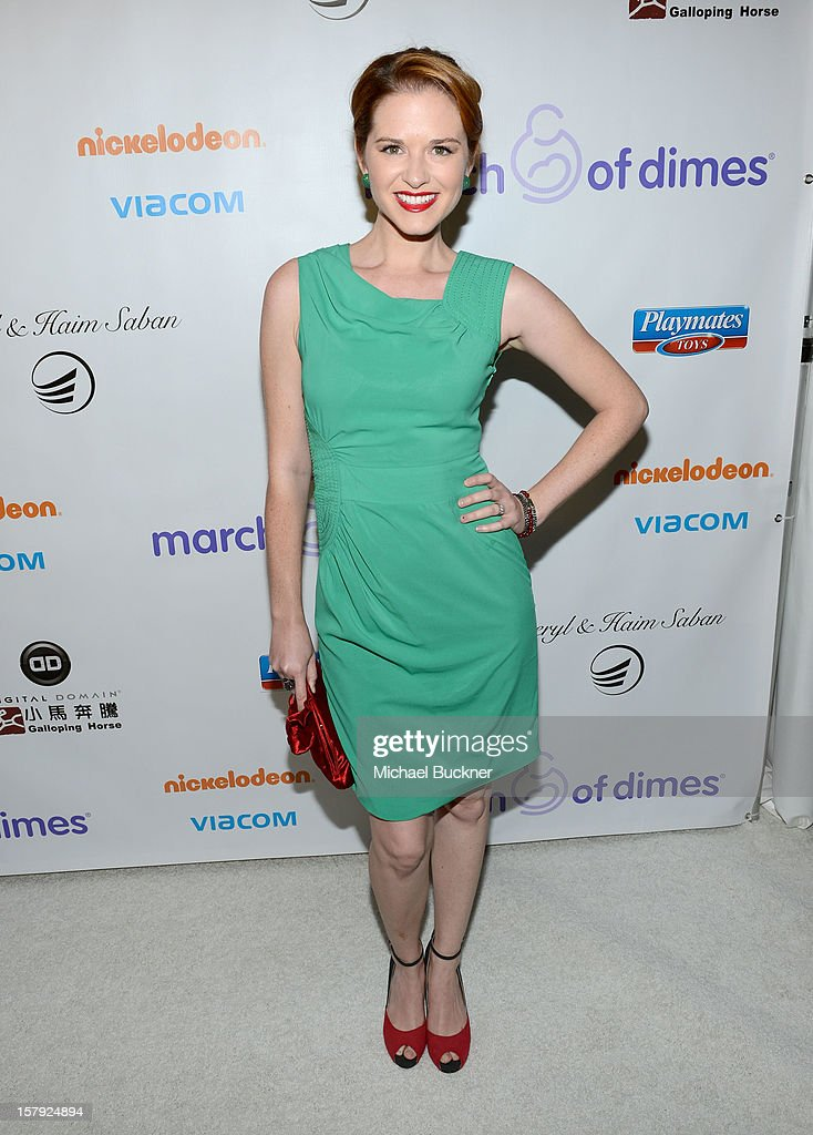 Actress Sarah Drew attends the 7th Annual March of Dimes Celebration of Babies, a Hollywood Luncheon, at the Beverly Hills Hotel on December 7, 2012 in Beverly Hills, California.