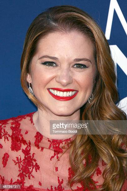 Actress Sarah Drew attends the 'Mom's Night Out' Los Angeles premiere held at the TCL Chinese Theatre IMAX on April 29 2014 in Hollywood California