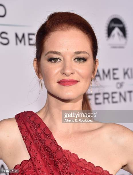 Actress Sarah Drew attends the premiere of Paramount Pictures and Pure Film Entertainment's 'Same Kind Of Different As Me' at Westwood Village...