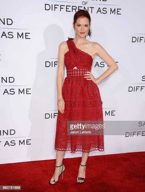 Actress Sarah Drew attends the premiere of 'Same Kind of Different as Me' at Westwood Village Theatre on October 12 2017 in Westwood California