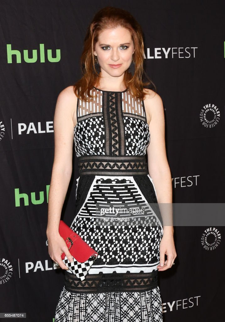 Actress Sarah Drew attends the The Paley Center For Media's 34th Annual PaleyFest Los Angeles - 'Grey's Anatomy' at Dolby Theatre on March 19, 2017 in Hollywood, California.