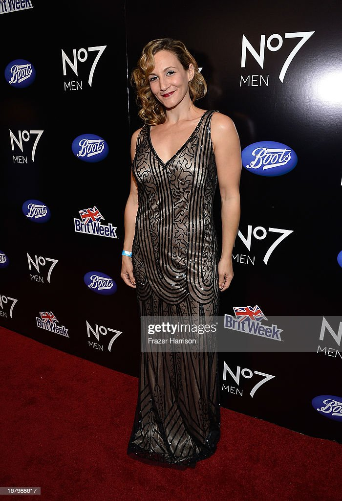 Actress Sarah Farooqui attends the Boots Not Men Launch at Britweek 2013 at The Fairmont Miramar Hotel on May 3, 2013 in Santa Monica, California.