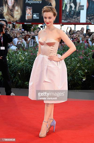 Actress Sarah Gadon attends 'Joe' Premiere during The 70th Venice International Film Festival at Sala Grande on August 30 2013 in Venice Italy