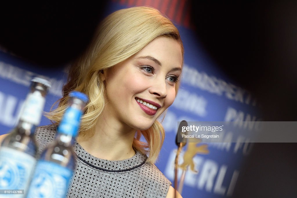 Actress <a gi-track='captionPersonalityLinkClicked' href=/galleries/search?phrase=Sarah+Gadon&family=editorial&specificpeople=6606524 ng-click='$event.stopPropagation()'>Sarah Gadon</a> attends the 'Indignation' press conference during the 66th Berlinale International Film Festival Berlin at Grand Hyatt Hotel on February 14, 2016 in Berlin, Germany.