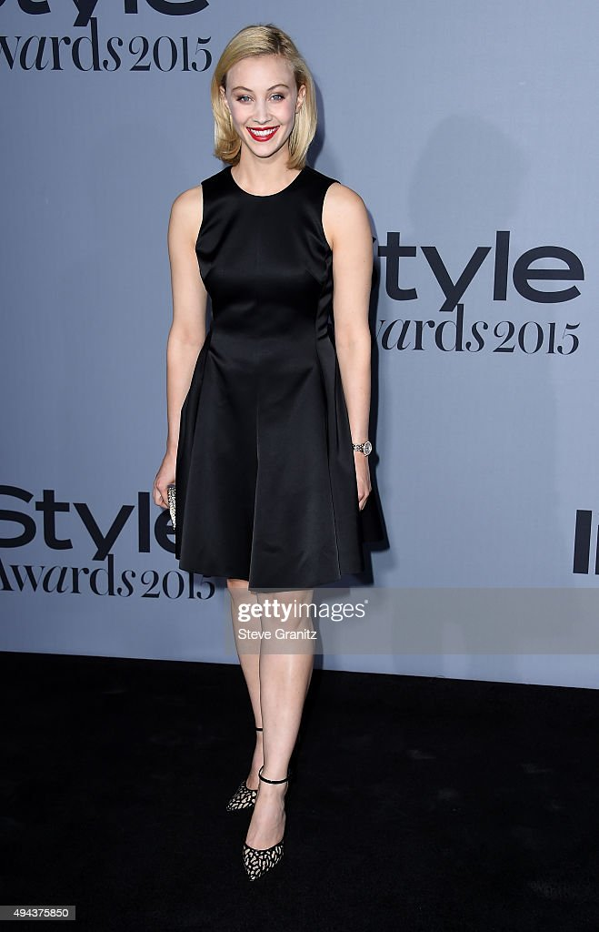 Actress <a gi-track='captionPersonalityLinkClicked' href=/galleries/search?phrase=Sarah+Gadon&family=editorial&specificpeople=6606524 ng-click='$event.stopPropagation()'>Sarah Gadon</a> attends the InStyle Awards at Getty Center on October 26, 2015 in Los Angeles, California.