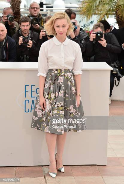Actress Sarah Gadon attends the 'Maps To The Stars' photocall at the 67th Annual Cannes Film Festival on May 19 2014 in Cannes France