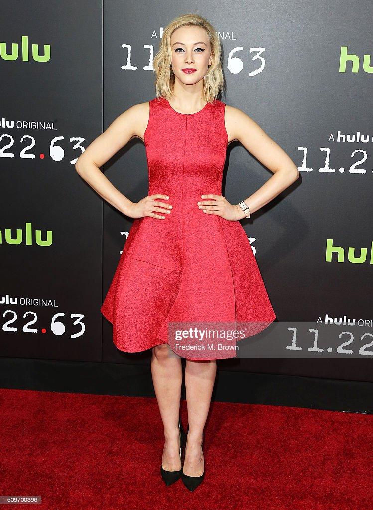 """Premiere Of Hulu's """"11.22.63"""" - Arrivals"""