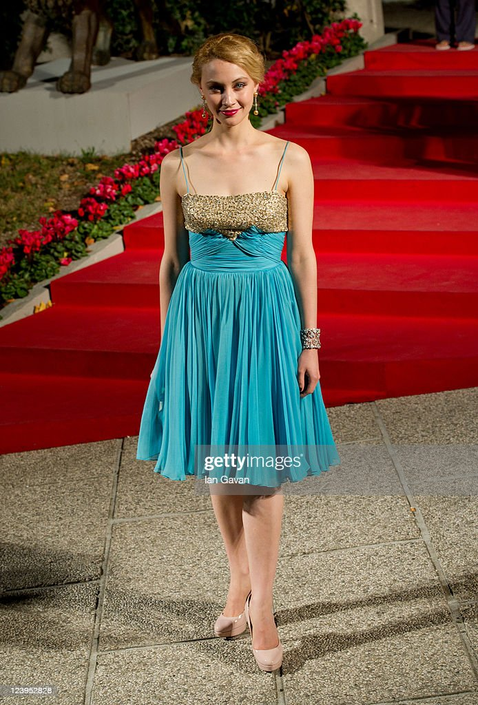 Actress Sarah Gadon attends the 'The Moth Diaries' premiere during the 68th Venice Film Festival at Palazzo del Cinema on September 6, 2011 in Venice, Italy.