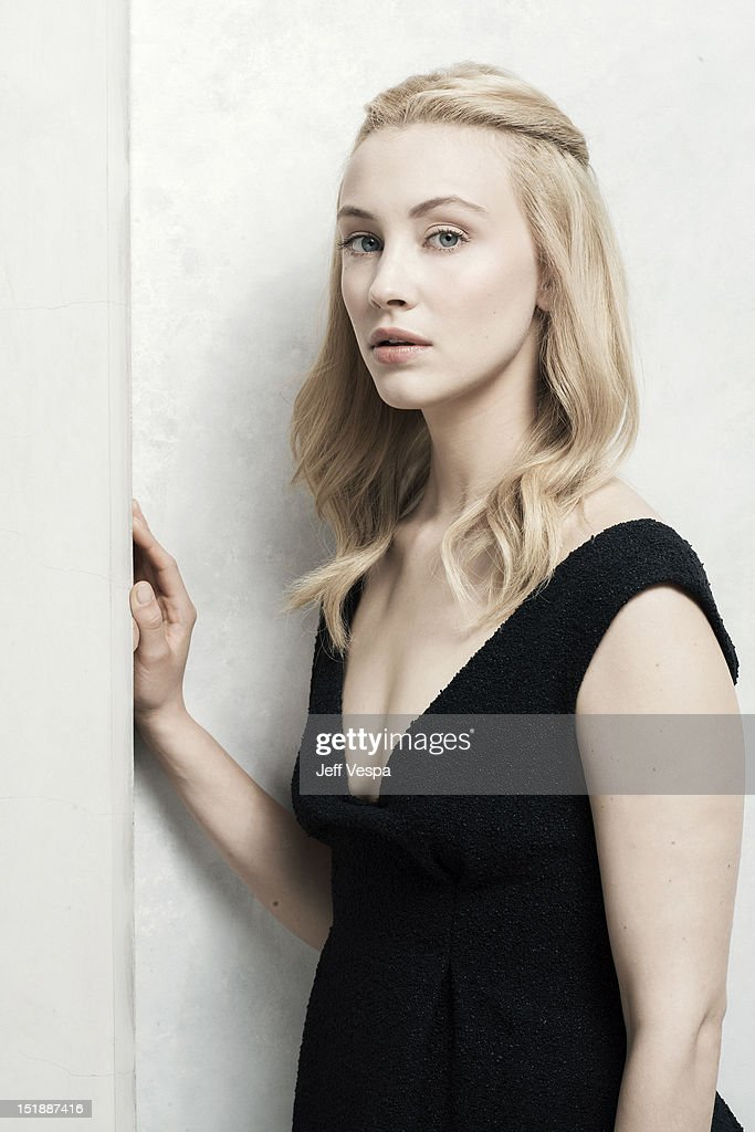 Actress Sarah Gadon is photographed at the Toronto Film Festival for Self Assignment on September 11, 2012 in Toronto, Ontario.