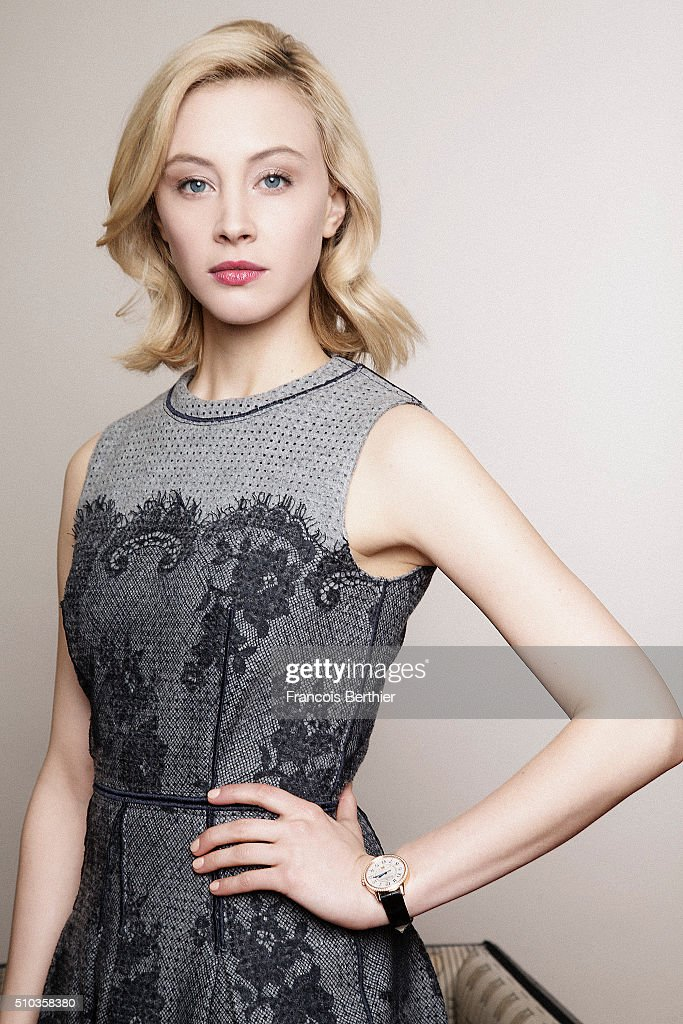 Actress <a gi-track='captionPersonalityLinkClicked' href=/galleries/search?phrase=Sarah+Gadon&family=editorial&specificpeople=6606524 ng-click='$event.stopPropagation()'>Sarah Gadon</a> is photographed for Self Assignment on February 14, 2016 in Berlin, Germany.
