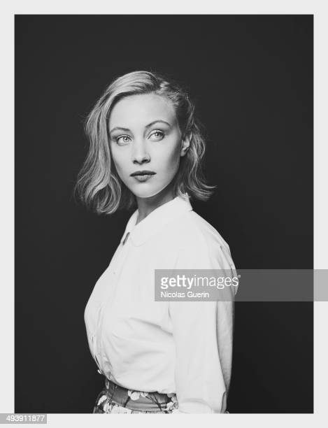 Actress Sarah Gadon is photographed for Self Assignment on May 20 2014 in Cannes France