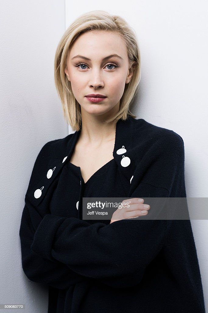 Actress Sarah Gadon of 'Indignation' poses for a portrait at the 2016 Sundance Film Festival on January 24, 2016 in Park City, Utah.