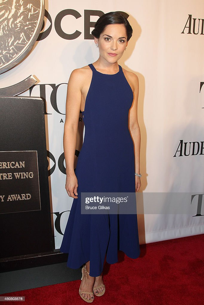 Actress Sarah Greene attends the American Theatre Wing's 68th Annual Tony Awards at Radio City Music Hall on June 8, 2014 in New York City.