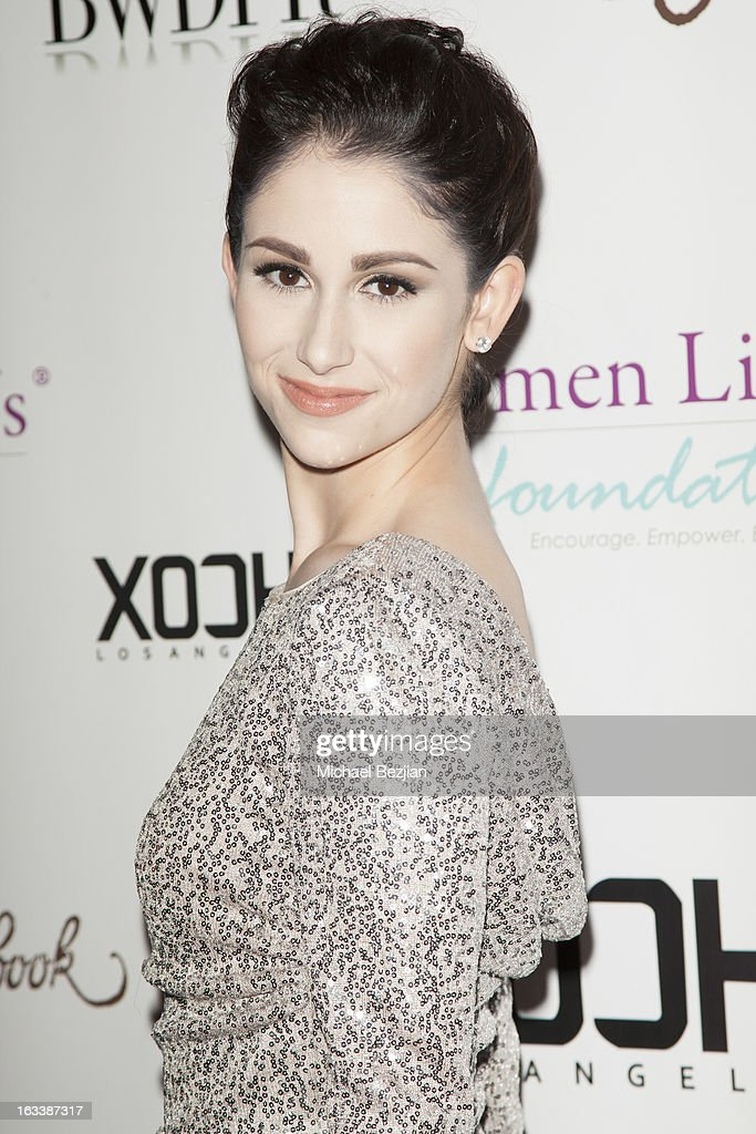 Actress Sarah Hackett attends Pre-LAFW Launch Party In Support Of The Women Like Us Foundation at Lexington Social House on March 8, 2013 in Hollywood, California.
