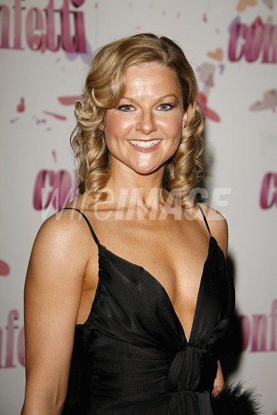 Actress Sarah Hadland arrives at the world premiere of ...