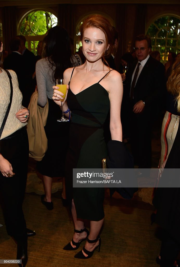 Actress Sarah Hay attends the BAFTA Los Angeles Awards Season Tea at Four Seasons Hotel Los Angeles at Beverly Hills on January 9, 2016 in Los Angeles, California.