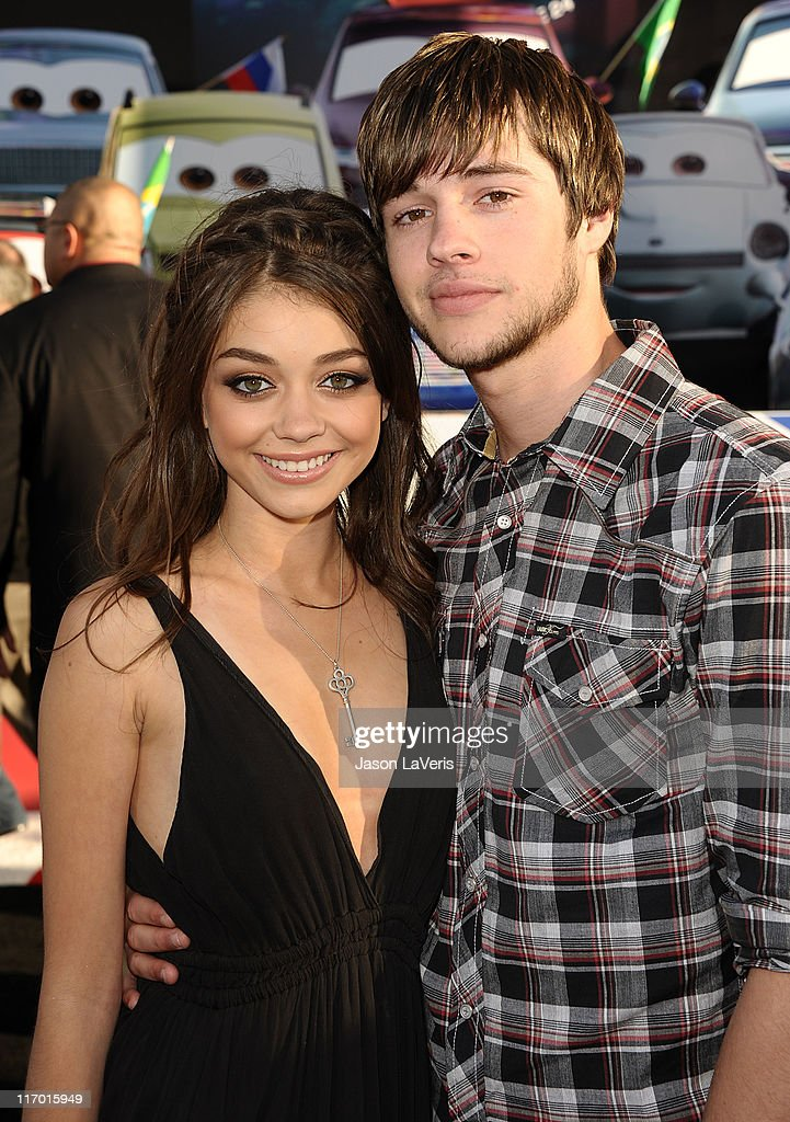 Actress <a gi-track='captionPersonalityLinkClicked' href=/galleries/search?phrase=Sarah+Hyland&family=editorial&specificpeople=3989646 ng-click='$event.stopPropagation()'>Sarah Hyland</a> and actor <a gi-track='captionPersonalityLinkClicked' href=/galleries/search?phrase=Matt+Prokop&family=editorial&specificpeople=5363862 ng-click='$event.stopPropagation()'>Matt Prokop</a> attend the premiere of Disney/Pixar's 'Cars 2' at the El Capitan Theatre on June 18, 2011 in Hollywood, California.