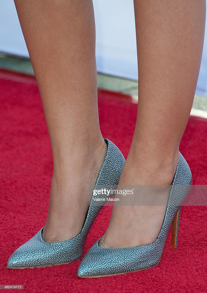 Actress Sarah Hyland (shoe detail) arrives at the 4th Annual Celebration Of Dance Gala Presented By The Dizzy Feet Foundation at Dorothy Chandler Pavilion on July 19, 2014 in Los Angeles, California.