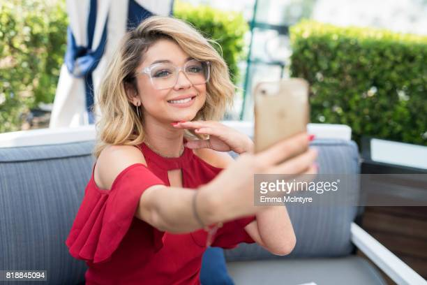 Actress Sarah Hyland attends Candie's event at The London Hotel on July 17 2017 in West Hollywood California