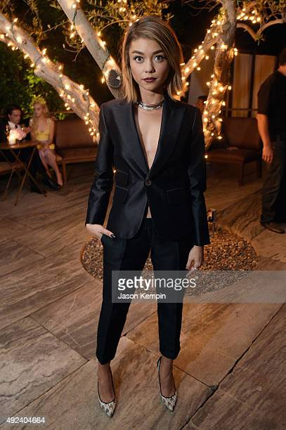 Actress Sarah Hyland attends Cosmopolitan's 50th Birthday Celebration at Ysabel on October 12 2015 in West Hollywood California