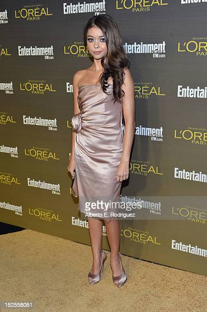 Actress Sarah Hyland attends The 2012 Entertainment Weekly PreEmmy Party Presented By L'Oreal Paris at Fig Olive Melrose Place on September 21 2012...