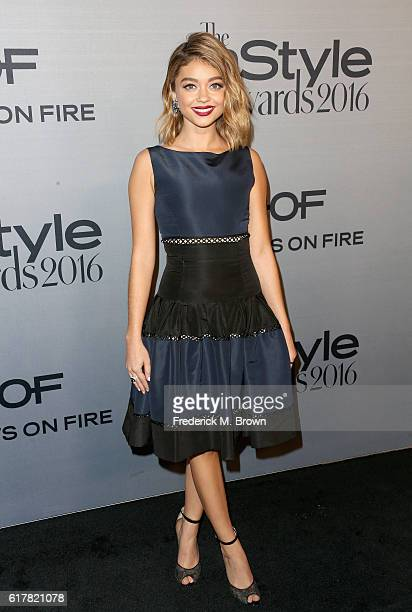 Actress Sarah Hyland attends the 2nd Annual InStyle Awards at Getty Center on October 24 2016 in Los Angeles California