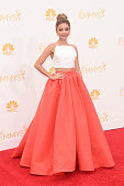 Actress Sarah Hyland attends the 66th Annual Primetime Emmy Awards held at Nokia Theatre LA Live on August 25 2014 in Los Angeles California