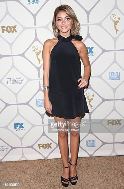 Actress Sarah Hyland attends the 67th Primetime Emmy Awards Fox after party on September 20 2015 in Los Angeles California