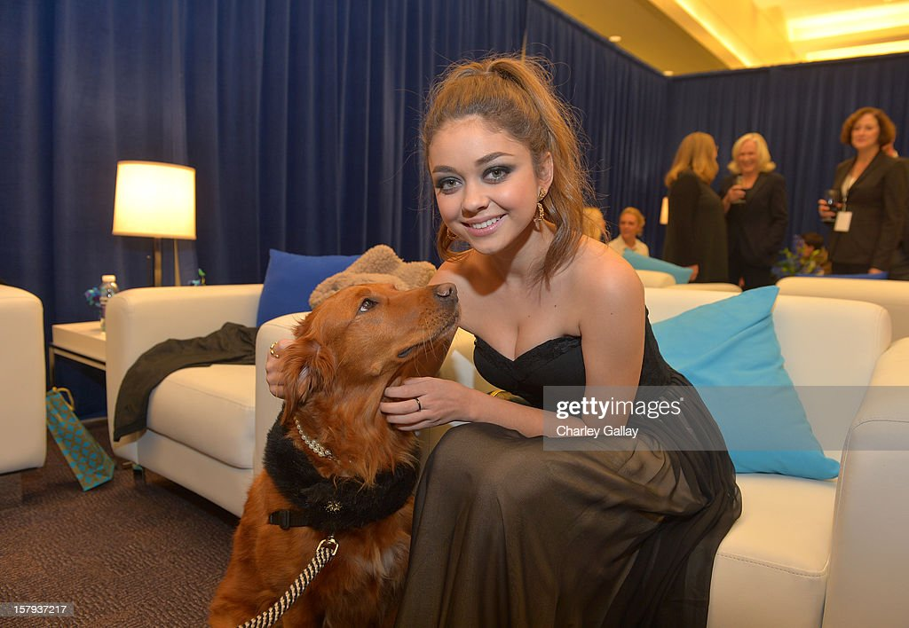 Actress Sarah Hyland attends the American Giving Awards presented by Chase held at the Pasadena Civic Auditorium on December 7 2012 in Pasadena...