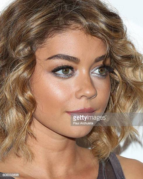 Actress Sarah Hyland attends the Audi celebration for the 68th Emmys at The Catch on September 15 2016 in West Hollywood California