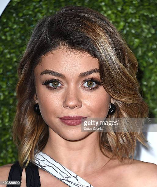 Actress Sarah Hyland attends the GQ 20th Anniversary Men Of The Year Party at Chateau Marmont on December 3 2015 in Los Angeles California