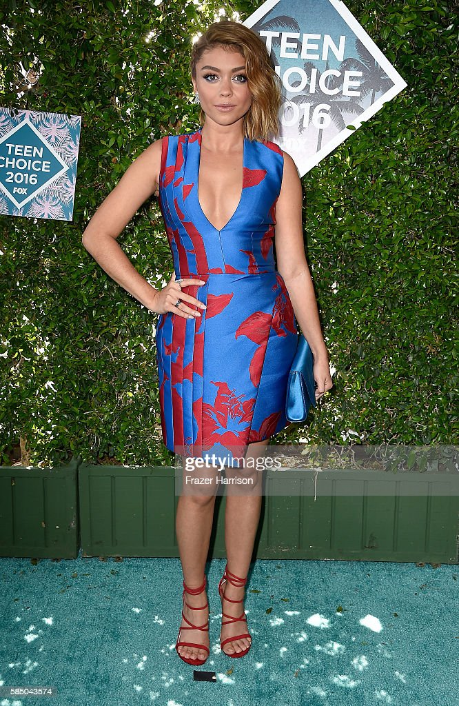 Actress Sarah Hyland attends the Teen Choice Awards 2016 at The Forum on July 31 2016 in Inglewood California