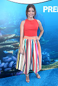 Actress Sarah Hyland attends the world premiere of DisneyPixar's 'Finding Dory' at the El Capitan Theatre on June 8 2016 in Hollywood California