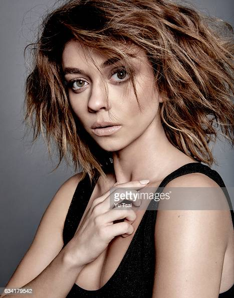 Actress Sarah Hyland is photographed for No Tofu Magazine on January 16 2016 in Los Angeles California