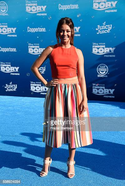 Actress Sarah Hylands attends the world premiere of DisneyPixar's 'Finding Dory' at the El Capitan Theatre 2016 in Hollywood California