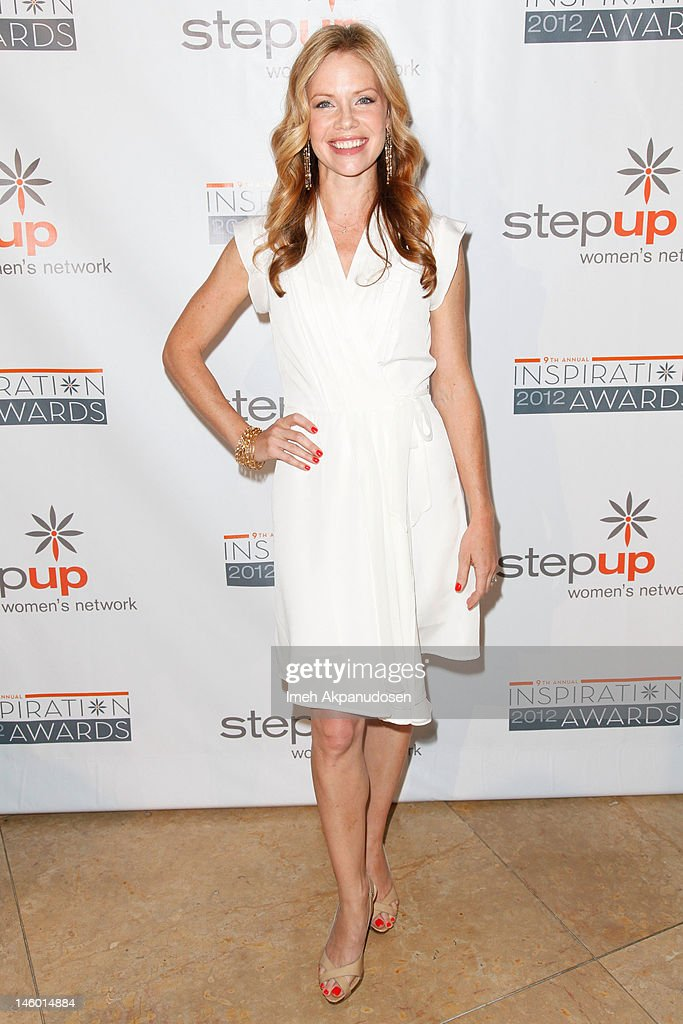Actress Sarah Jane Morris attends Step Up Women's Networks' 9th Annual Inspiration Awards at The Beverly Hilton Hotel on June 8, 2012 in Beverly Hills, California.