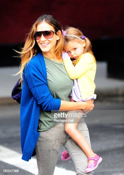 Actress Sarah Jessica Parker and Marion Broderick are seen in Soho on September 27 2013 in New York City