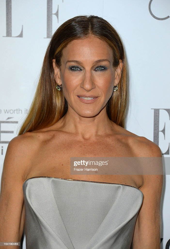 Actress Sarah Jessica Parker arrives at ELLE's 19th Annual Women In Hollywood Celebration at the Four Seasons Hotel on October 15, 2012 in Beverly Hills, California.