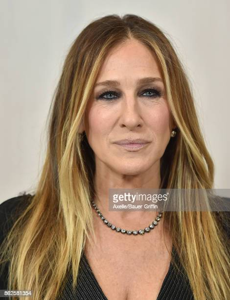 Actress Sarah Jessica Parker arrives at Hammer Museum Gala in the Garden on October 14 2017 in Westwood California