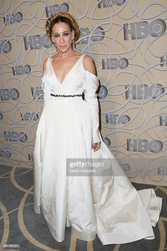 Actress Sarah Jessica Parker arrives at HBO's Official Golden Globe Awards after party at the Circa 55 Restaurant on January 8, 2017 in Los Angeles, California.