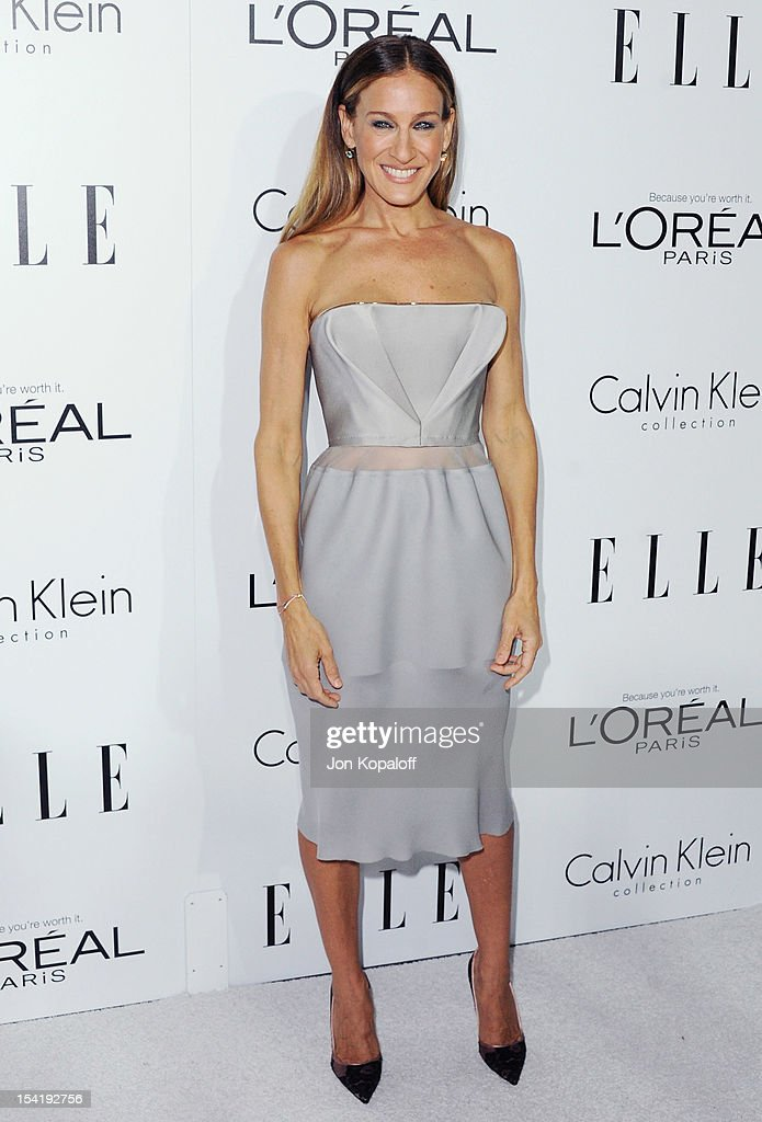 Actress Sarah Jessica Parker arrives at the 19th Annual ELLE Women In Hollywood Celebration at the Four Seasons Hotel Los Angeles at Beverly Hills on...