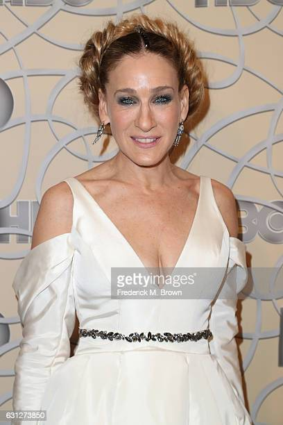 Actress Sarah Jessica Parker attends HBO's Official Golden Globe Awards After Party at Circa 55 Restaurant on January 8 2017 in Beverly Hills...