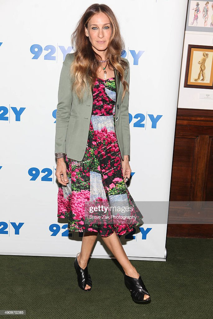 Actress Sarah Jessica Parker attends In Conversation With Jonathan Tisch at 92nd Street Y on May 15 2014 in New York City
